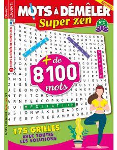 Mots à Démêler Super Zen 02 - 175 grilles
