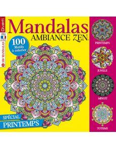 Mandalas Ambiance Zen 13 - 100 motifs à colorier