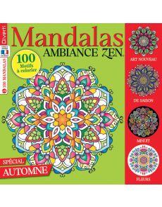 Mandalas Ambiance Zen 15 - Spécial Automne
