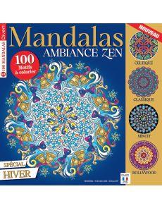 Mandalas Zen 4 - Spécial Hiver