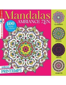 Mandalas ambiance zen 5 - Spécial Printemps