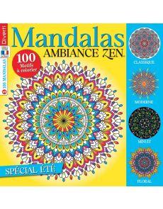 Mandalas ambiance zen n°6 - Spécial été
