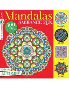 Mandalas Zen 7 - Spécial Automne, avec 100 motifs à colorier