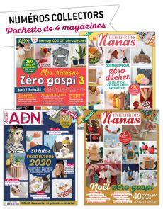 Collection 2020 complète - L'ATELIER des NANAS : 4 numéros collectors