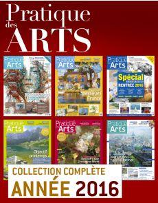 Collection Pratique des Arts 2016 : 6 numéros collectors