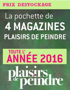 Maxi pochette Plaisirs de Peindre 2016