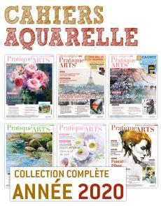 Collection 2020 suppléments AQUARELLE 6 numéros - Pratique des Arts