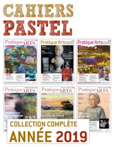 Collection 2019 suppléments PASTEL 6 numéros - Pratique des Arts