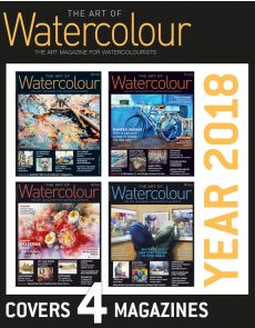 4 Magazines The Art of Watercolour - Discount Collection YEAR 2018