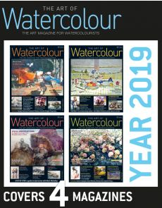 4 Magazines The Art of Watercolour - Discount Collection YEAR 2019