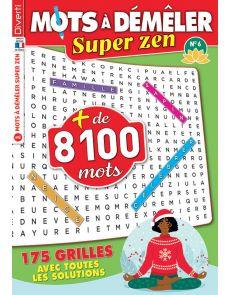 Mots à Démêler Super Zen 6 - Avec plus de 8000 mots à trouver