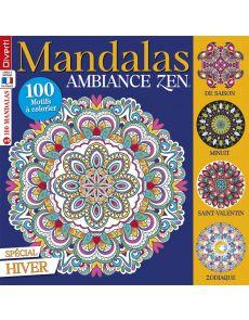Mandalas Zen 8 - Spécial Hiver