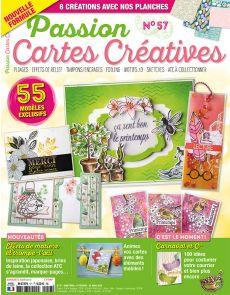 Passion Cartes Créatives n°57 - ça sent bon le printemps !