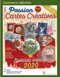 Je crée mes cartes de vœux 2020 - Passion Cartes Créatives hors-série 13