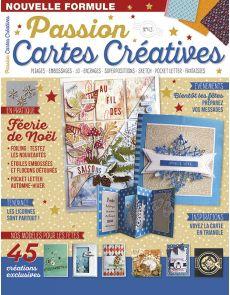 Passion Cartes créatives numéro 43 - Créez vos cartes de Noël, invitations, remerciements…