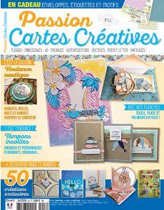 Passions cartes créatives n°53 - Cartes pour la saison de l'été