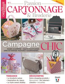 Passion Cartonnage et Broderie - Campagne Chic