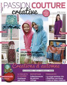 Passion Couture créative numéro 18 - Créations d'automne