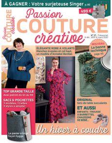 Passion Couture Créative 27 - Un hiver à coudre