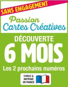 Passion Cartes Créatives - Abonnement Découverte 2 numéros