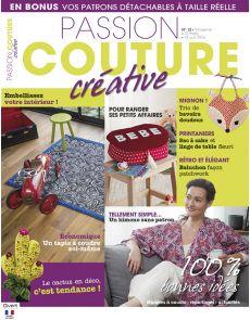 Passion Couture Créative n°12 - Des tutoriels couture à faire soi-même