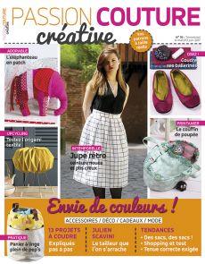 Passion Couture Créative n°16 + les patrons à taille réelle