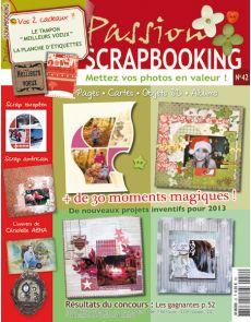 Passion Scrapbooking n°42