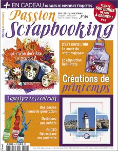 Passion Scrapbooking n°49