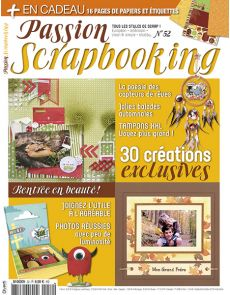 Passion Scrapbooking n°52