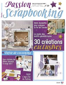 Passion Scrapbooking n°59 - 30 créations exclusives spéciales fêtes