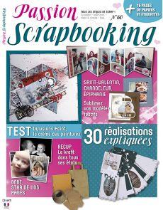 Passion Scrapbooking n°60 - 30 réalisations expliquées