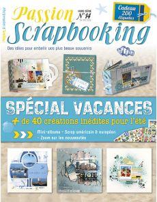 Passion Scrapbooking Hors-série n°14 - Spécial Vacances