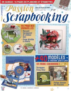 Passion Scrapbooking 77 - Le magazine du scrap Européen, américain, clean & simple