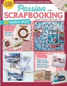 Passion Scrapbooking n°89 + 16 pages de planches créatives