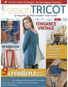 Passion Tricot n°7 - 9 créations tendance Vintage