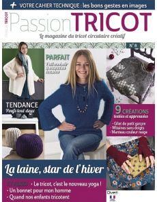 Passion Tricot n°8 - La laine, star de l'hiver