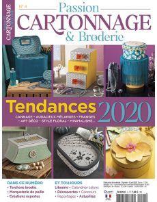 Passion Cartonnage et Broderie n°04 - Tendances 2020
