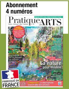L'abonnement aux 4 prochains numéros du magazine PRATIQUE DES ARTS