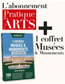 EXCLU WEB : Abonnement PDA + 2 entrées aux Musées et Monuments