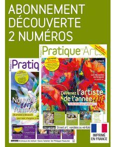 Pratique des Arts - Abonnement Découverte 2 numéros