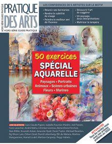 50 exercices à l'AQUARELLE - Pratique des Arts Hors-série 57