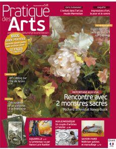 Pratique des Arts n°126 - Maxi guide pratique, rencontres dans l'atelier des artistes, dossiers techniques…
