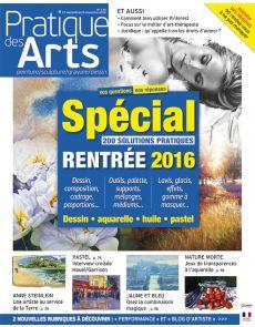 Pratique des Arts n°130 : des rencontres d'artistes, un Guide Pratique de 32 pages, l'agenda des manifestations artistiques près de chez vous…