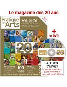 Bookzine des 20 ANS de Pratique des Arts + le DVD des 20 ANS