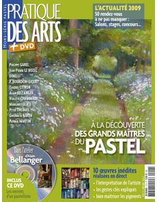 PDA Hors-série n°20P Grand maîtres du pastel + DVD
