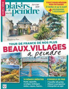 Peindre les plus beaux villages de France - Plaisirs de peindre HS 33