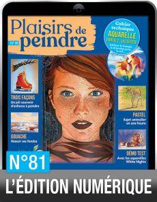 TÉLÉCHARGEMENT : Plaisirs de Peindre 81 version numérique