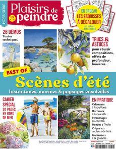 Peindre les scènes d'été - Plaisirs de Peindre hors-série Best Of n.36