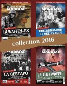 Collection 2016 - Histoire du Second Conflit Mondial - 4 numéros Collector