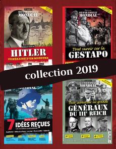Collection 2019 - Histoire du Second Conflit Mondial - 4 numéros Collector